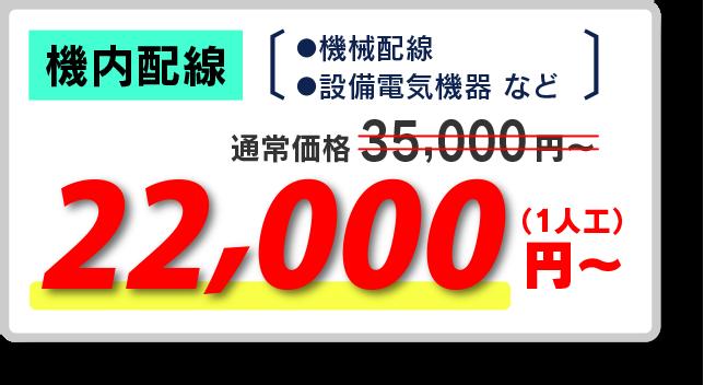 椿株式会社の機内配線(機械配線、設備電気機器)